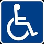 Logo utenti disabili